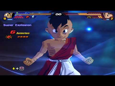 Uub  Niño Version DB HEROES FINAL vs Goku GT and Pan - DBZ BudokAi Tenkaichi 3  
