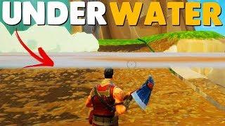 Fortnite: Secret Underwater Island!!!