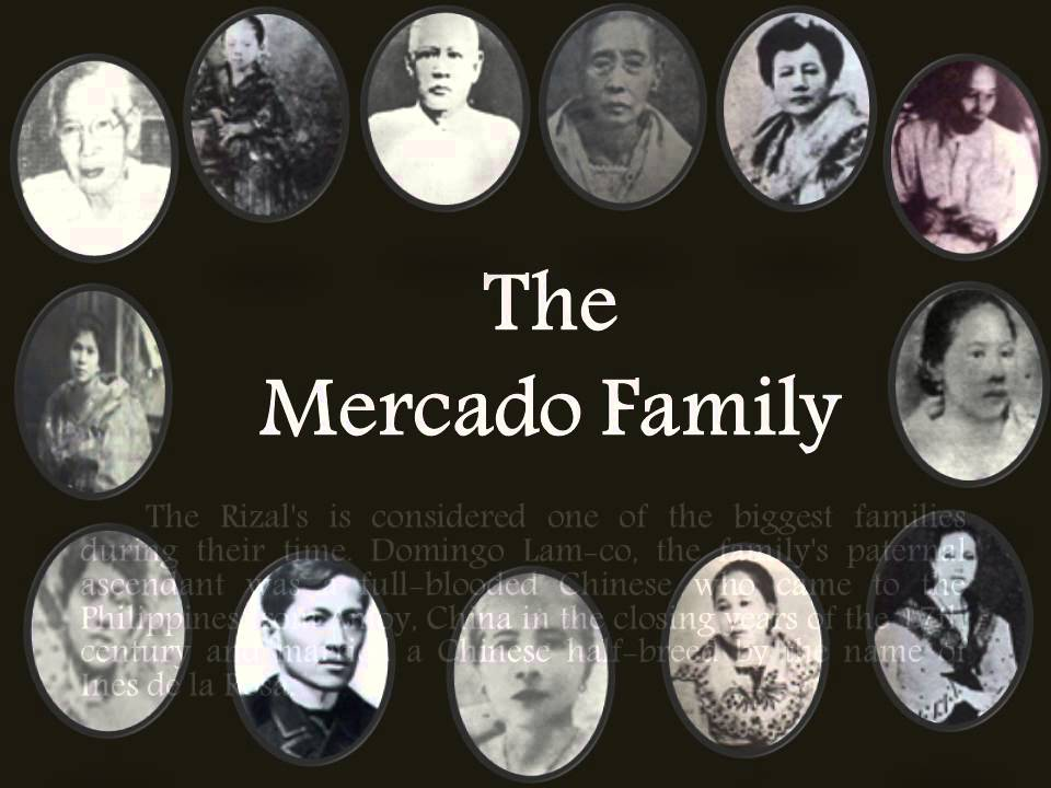 Rizal The Mercado Family - YouTube