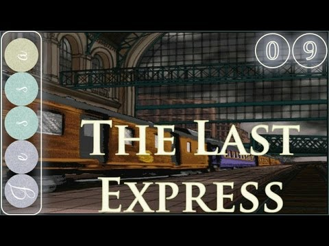 #⓪❾ The Last Express Adventure Game Let's Play ~ Vienna to Belgrade, Part 01