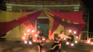 EDELIA creative group. Fire-show (07.10.2011)