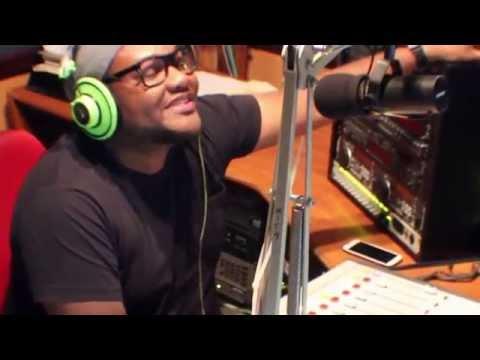 Ken Spellman visits Trinidad Radio Stations 91.1, 99.1, 100.1