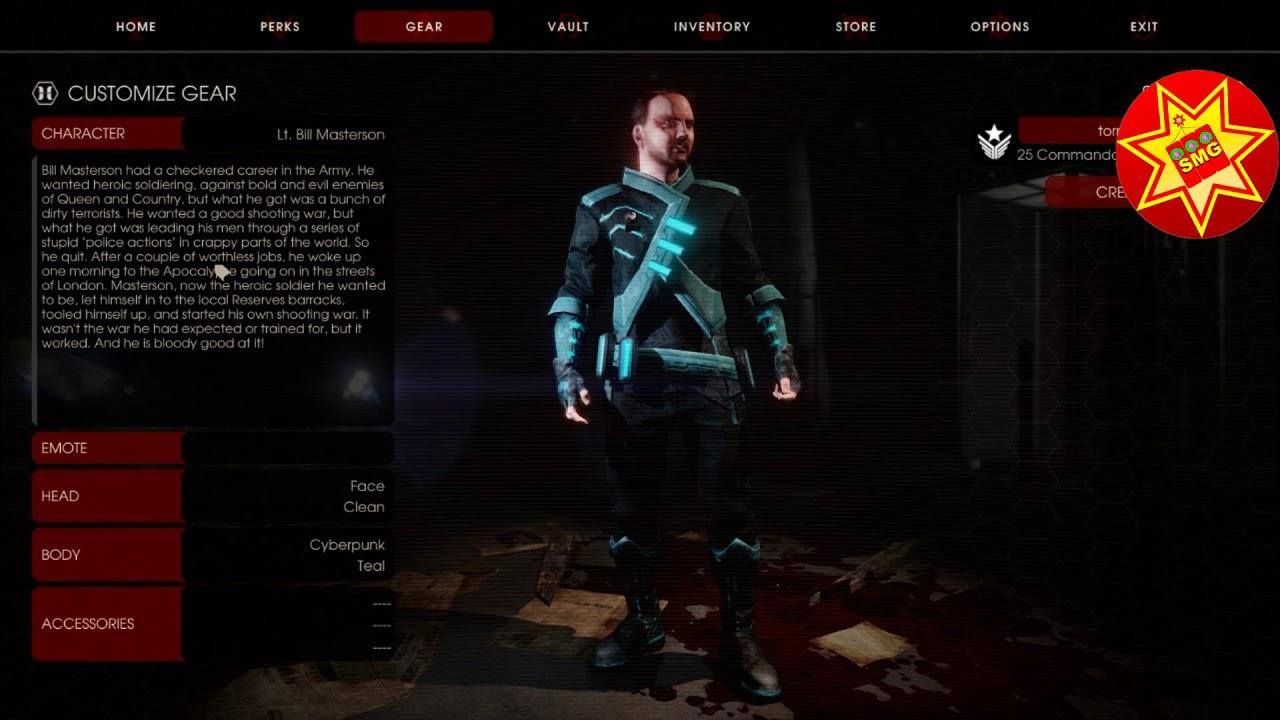 Killing Floor 2 Cyber Revolt Beta Cyberpunk Skin And Head Reward Seasonal Spring Achievement Youtube