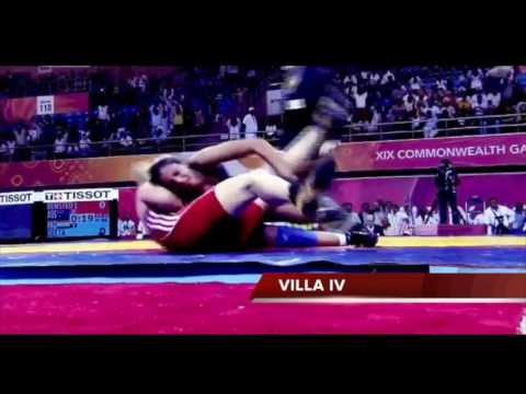 DANGAL Climax scene in real life. Geeta Phogat real life perfomance