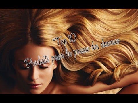 top 10 produits pour la pousse des cheveux youtube