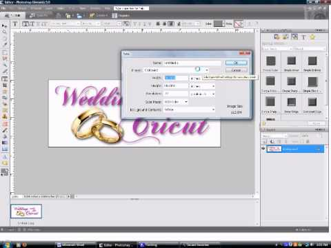 how to make wedding invitation in photoshop