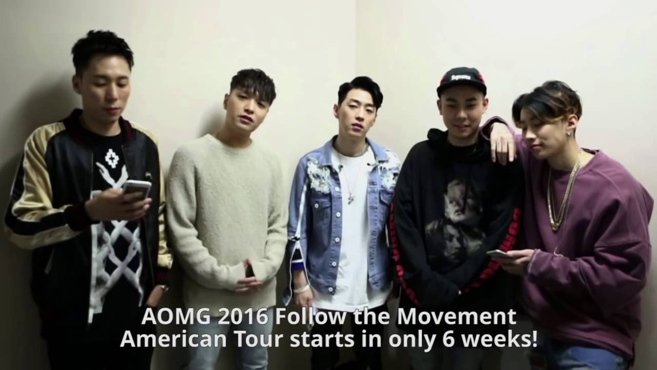 aomg follow the movement 2016 tour we re coming to america