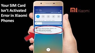 How To Xiaomi Sim Activate Service