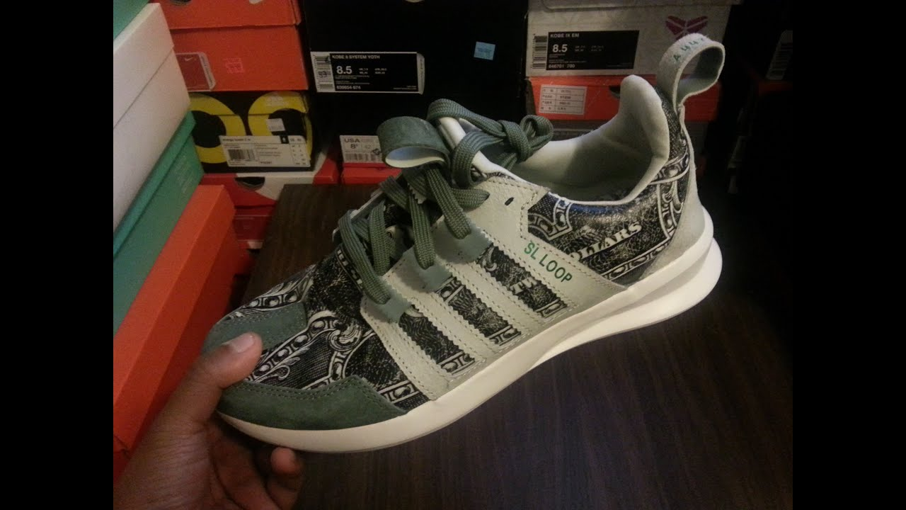 337a133a0ddc3 Unboxing Review Wish ATL x Adidas SL Loop Runner - YouTube