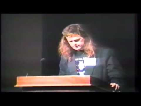 David Chalmers on the Hard Problem of Consciousness (Tucson 1994)