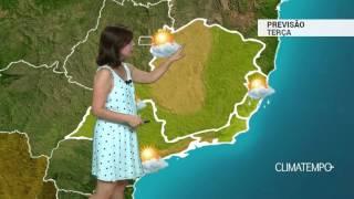 Previsão Sudeste – ES com pancadas de chuva