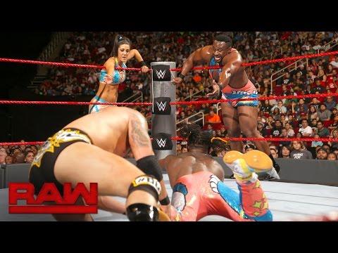 The New Day & Bayley vs. Luke Gallows, Karl Anderson & Dana Brooke: Raw, Aug. 29, 2016