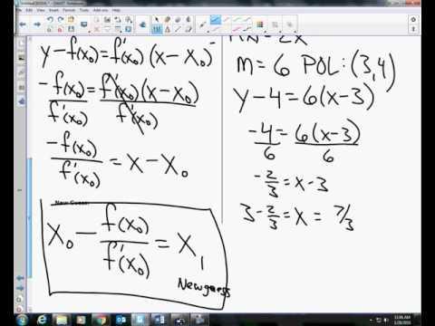 Calculus Unit 4.9 Notes Newton
