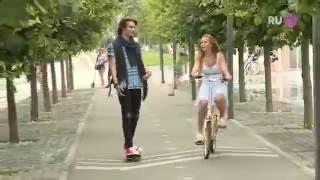 Никита Киоссе ( MBAND ) на съемках премьерного клипа певицы Алексии