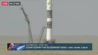 Aufbruch zur ISS mit Alexander Gerst (Der Start 06.06.2018)