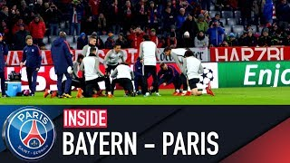 INSIDE - BAYERN MUNICH VS PARIS SAINT-GERMAIN