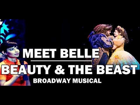 BEAUTY & THE BEAST BROADWAY MUSICAL  MEDIA/PRESS CALL: Interview with BELLE ❤TheWickeRmoss