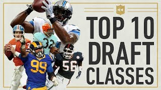 Top 10 Draft Classes in NFL History! | NFL Vault Stories