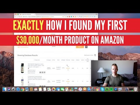EXACTLY How I Found My FIRST $30,000/Month Amazon Product (Step By Step)
