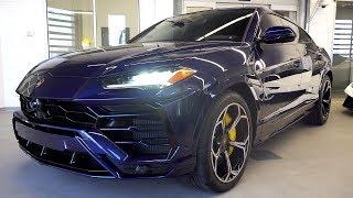I DELIVER A BRAND NEW 2019 Lamborghini Urus in Blu Astraeus!