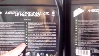Моторное масло Мазда 5w 30 подделка и оригинал часть 2(, 2016-02-08T17:13:21.000Z)