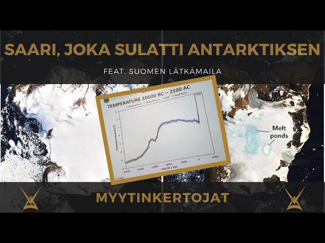 Saari, joka sulatti Antarktiksen - feat. suomalainen lätkämaila