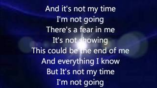 3 Doors Down Not My Time Lyrics