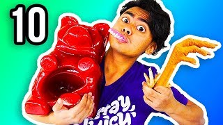 Baixar REAL FOOD VS GUMMY FOOD 10!