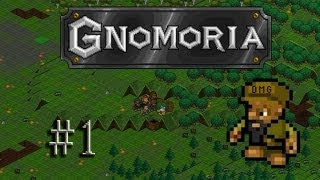Let's play Gnomoria #1 - The Kingdom of Terrorhand