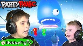 Video Party Panic Multiplayer PC Gaming HobbyPigTV download MP3, 3GP, MP4, WEBM, AVI, FLV Maret 2018