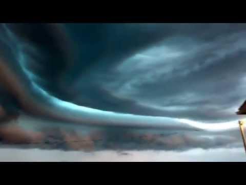 Storm over Martin, SD