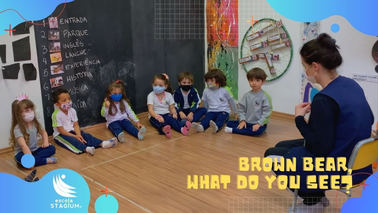 Brown Bear, What Do You See? - Story Time!