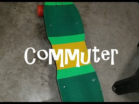 DIY simple commuter Eskate