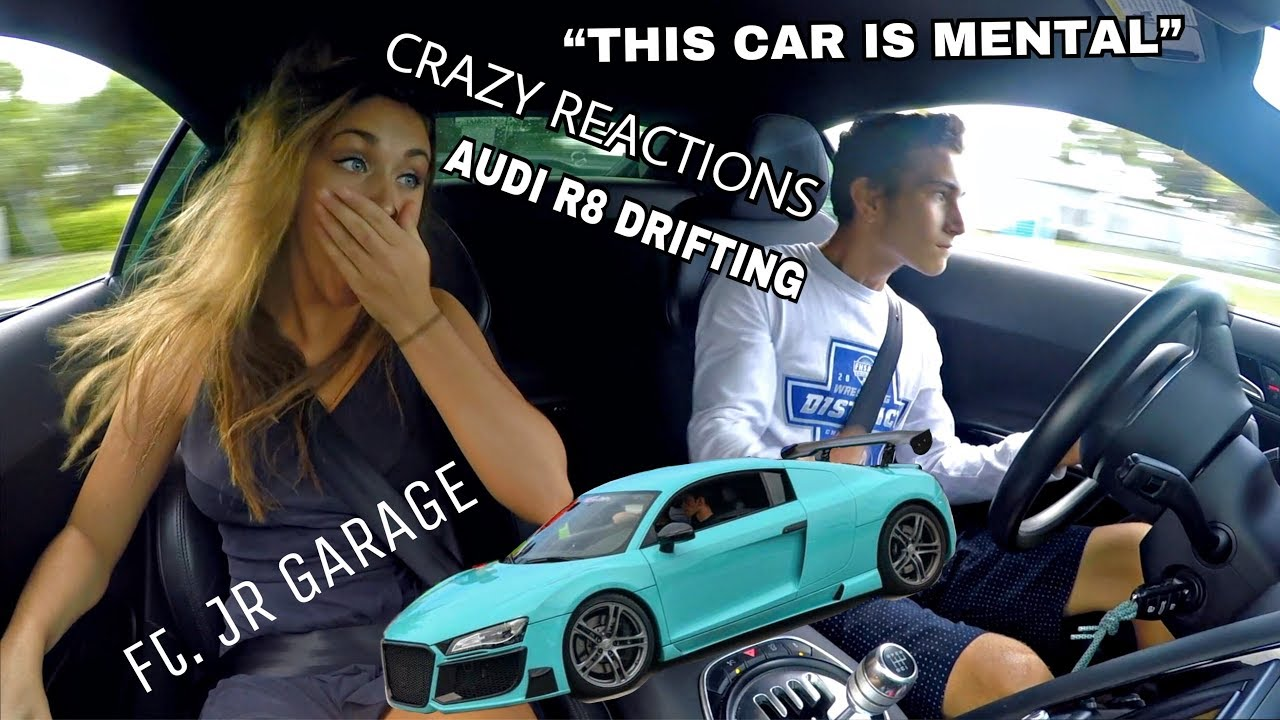 Garage Audi Tours Reactions To My Audi R8 Build Ft Jr Garage Hot Girl
