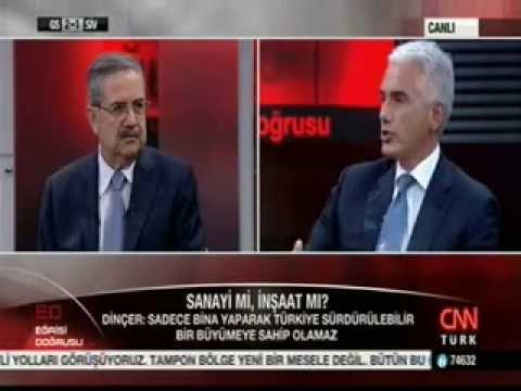 TÜSİAD Başkanı Haluk Dinçer'in Gündeme İlişkin Değerlendirmeleri - CNNTürk Söyleşisi - 26 Eylül 2014