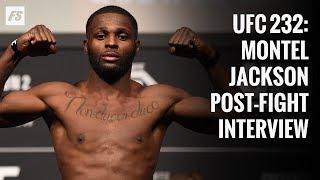 UFC 232 Montel Jackson post-fight interview