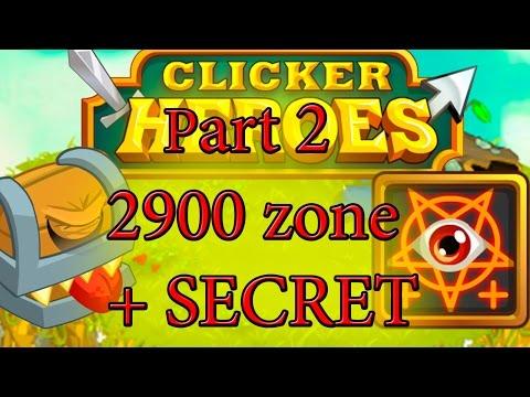 Clicker Heroes - Zone 2900 + SECRET TIP. Part 2.