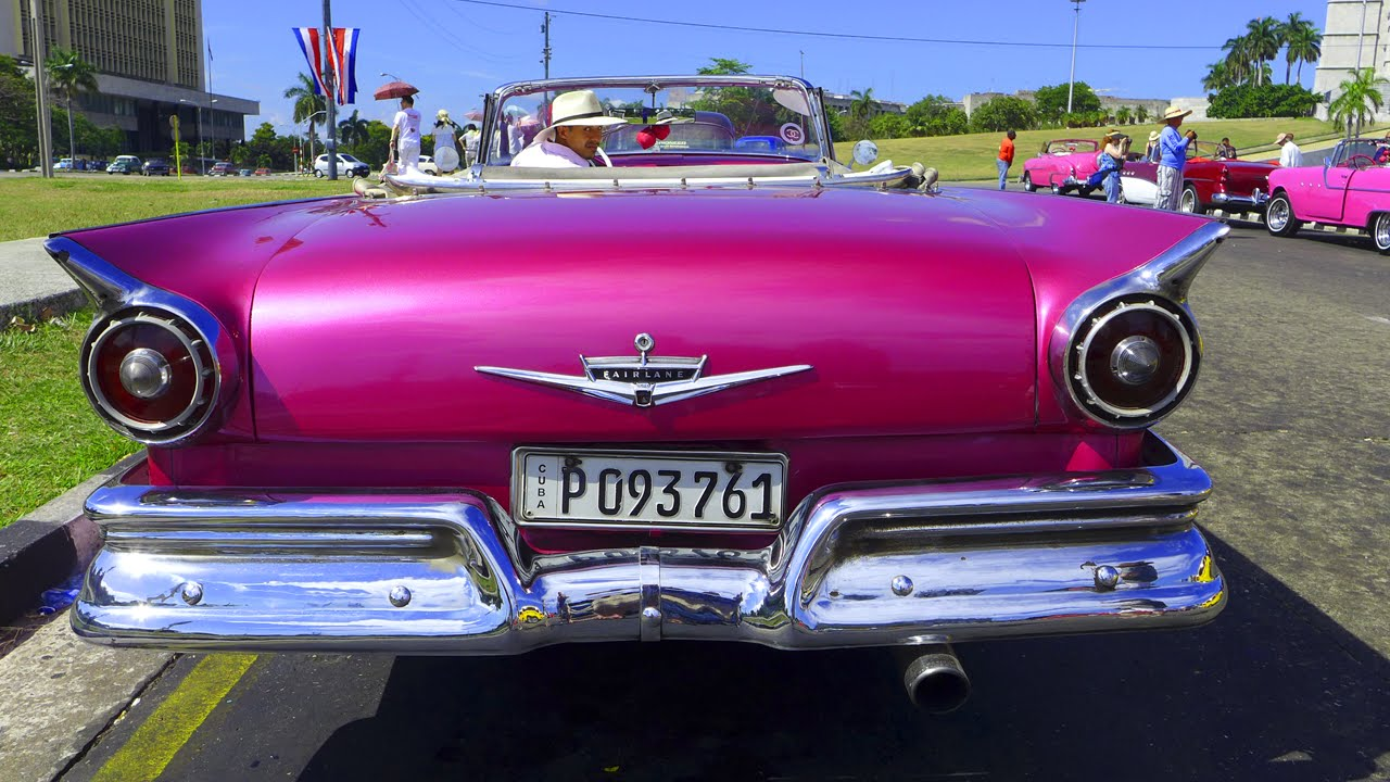 American classic cars in cuba youtube for American classic cars