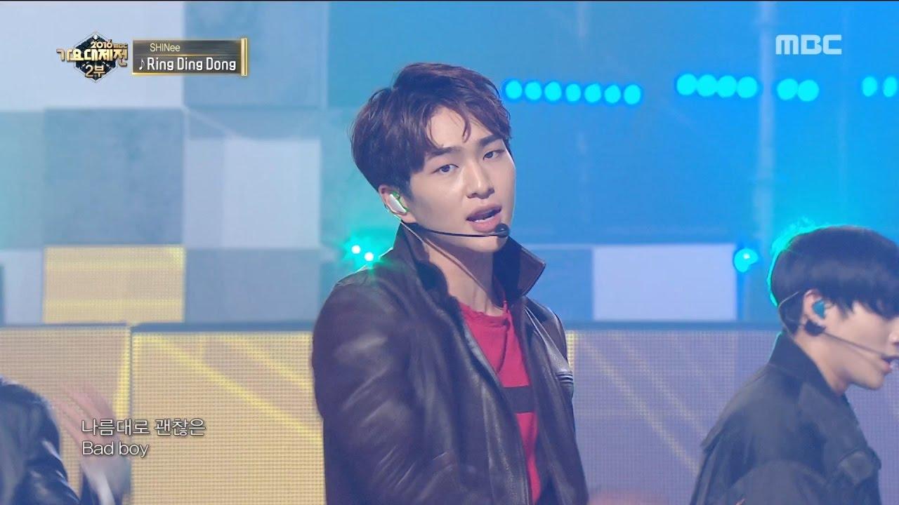 [MMF2016] SHINee - Ring Ding Dong, 샤이니 - 링딩동, MBC Music ...