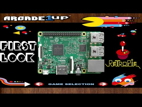 Arcade1UP Raspberry Pi Attract Mode Image - W.I.P. from Harrison Hacks
