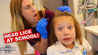 LICE at SCHOOL!!! 😱