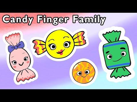 馃崿 Candy Finger Family and More 馃嵀 | SWEET TREATS | Nursery Rhymes from Mother Goose Club!