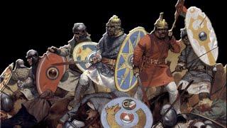 Total War:Attila Сасанидские лучники VS Армия Рима !
