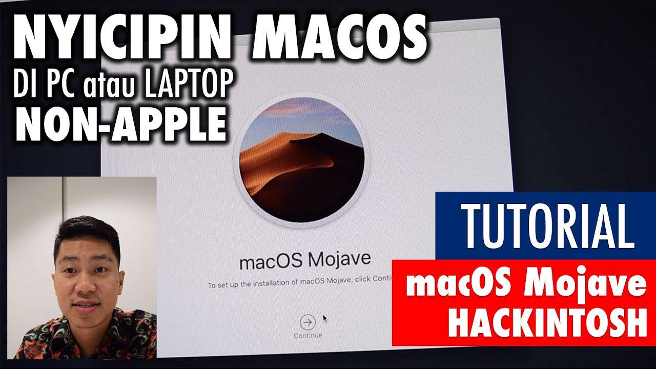 Tutorial Install macOS Mojave di PC non-Apple - Tutorial Hackintosh  Indonesia (2019)