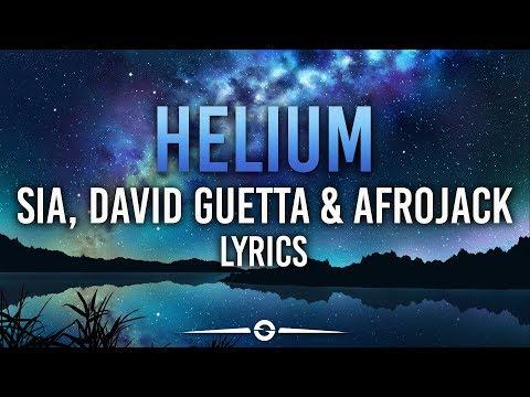 Sia, David Guetta & Afrojack - Helium (Lyrics / Lyric Video)