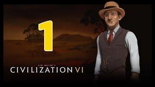 Прохождение Civilization 6 #1 - Агрессия - не лучший выбор [Австралия - Божество]