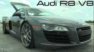 Tuned Audi R8 takes on Turbo BMW 1M Coupe(Rare)