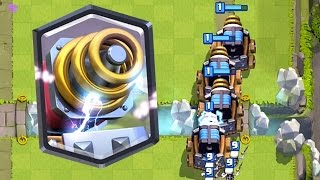 Clash Royale - SPARKY MADNESS! Mirror & Sparky = Troll
