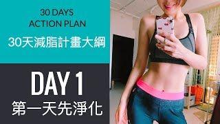 30天減脂計畫|減脂計畫大綱分享 |Day1第一天先淨化 #8