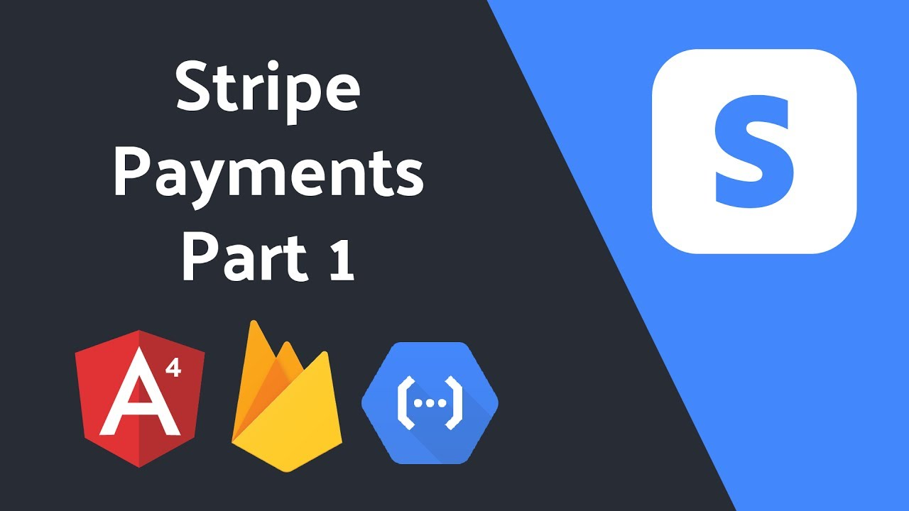 Stripe Checkout Payments with Angular and Firebase - Part 1